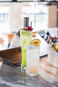 Drinks at Boardwalk restaurant