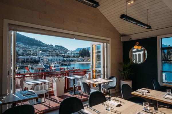Stunning view from Boardwalk restaurant